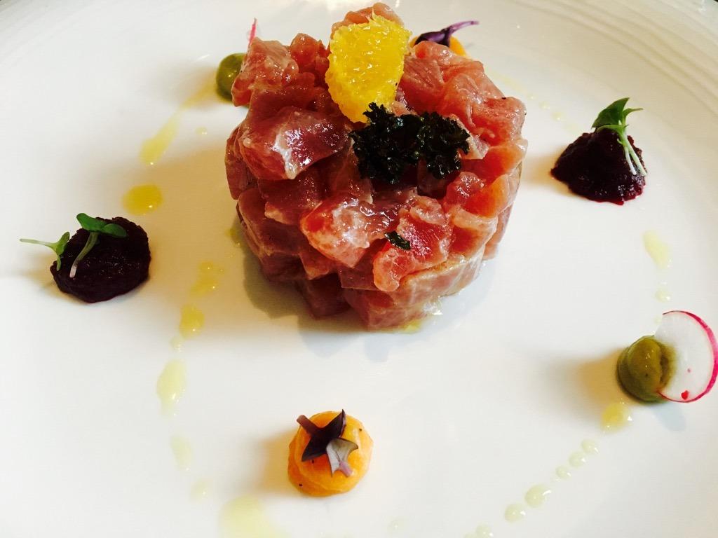 Camillo Benso tuna tartare