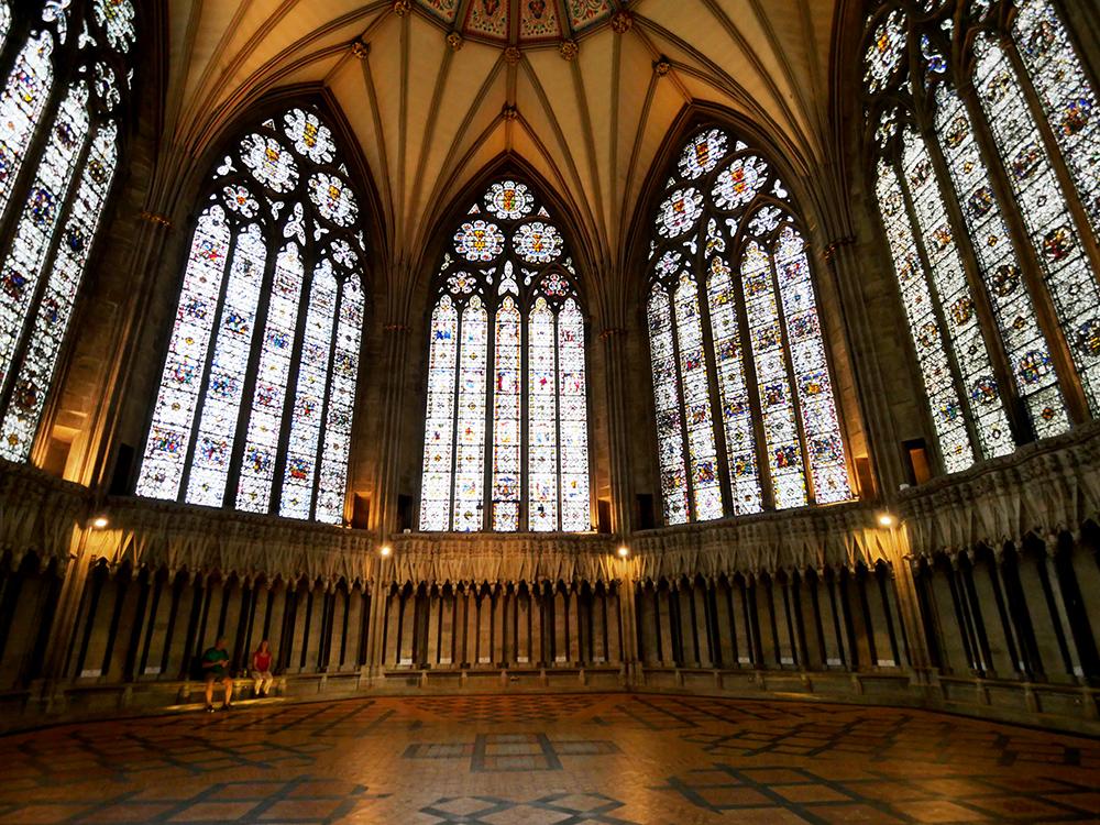 Chapter House Interior York Minster