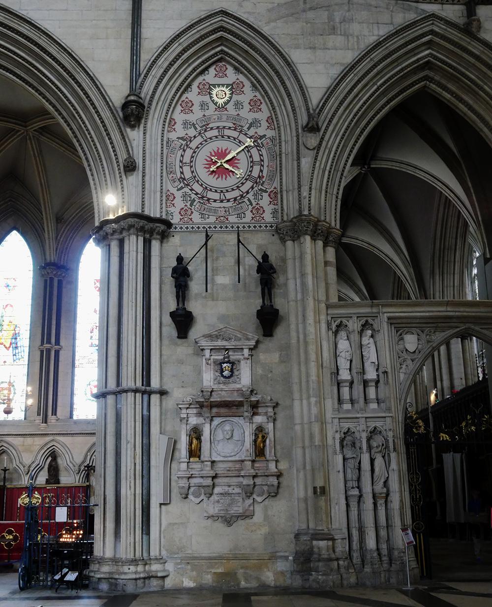 Clock York Minster