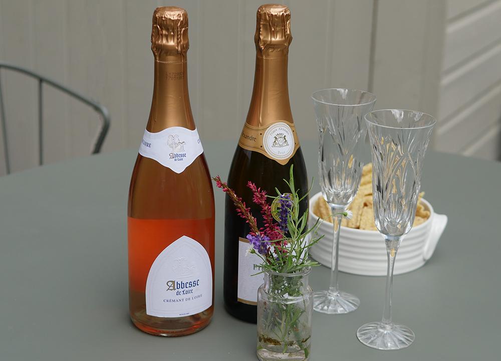 Cremant de Loire for Tasting