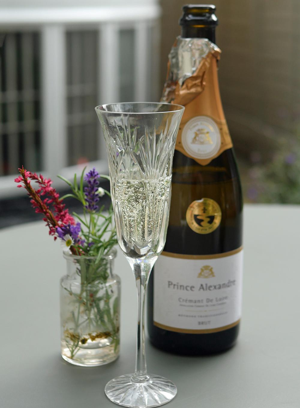 Cremant de Loire tasting