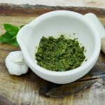 Easy basil pesto without nuts