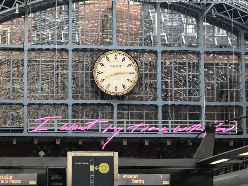 Eurostar Kings Cross St Pancras
