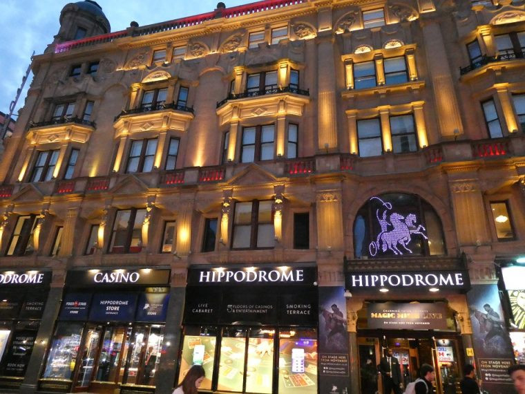 The Hippodrome London - home to Heliot Steakhouse
