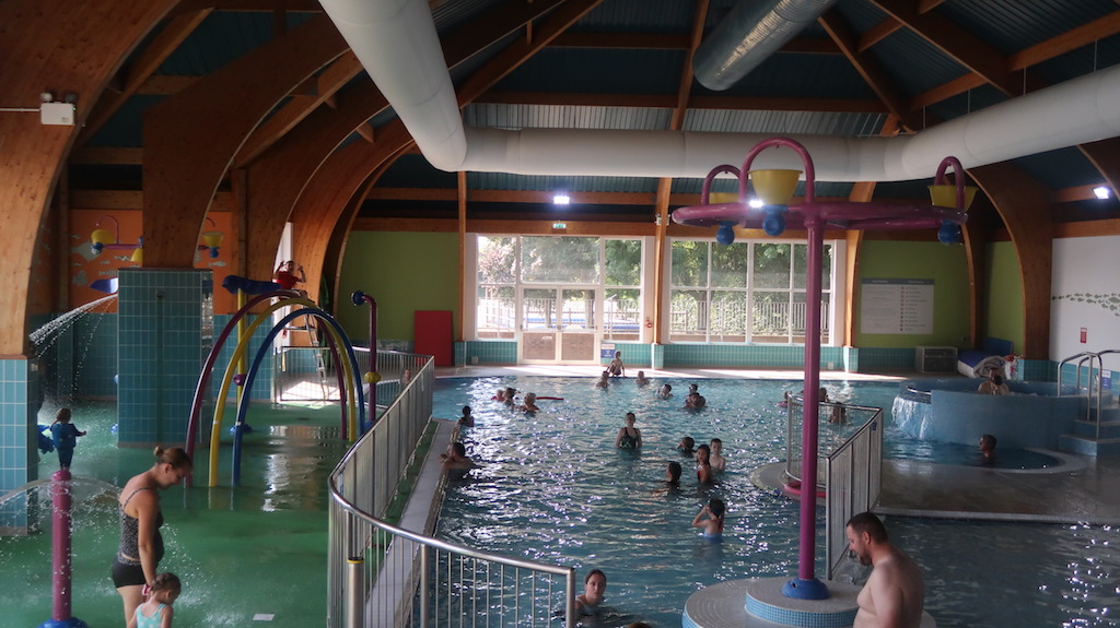 Hoburne Bashley indoor swimming pool