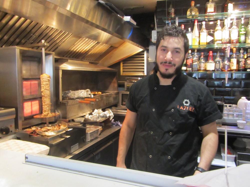 Lazeez Lebanese Restaurant chef