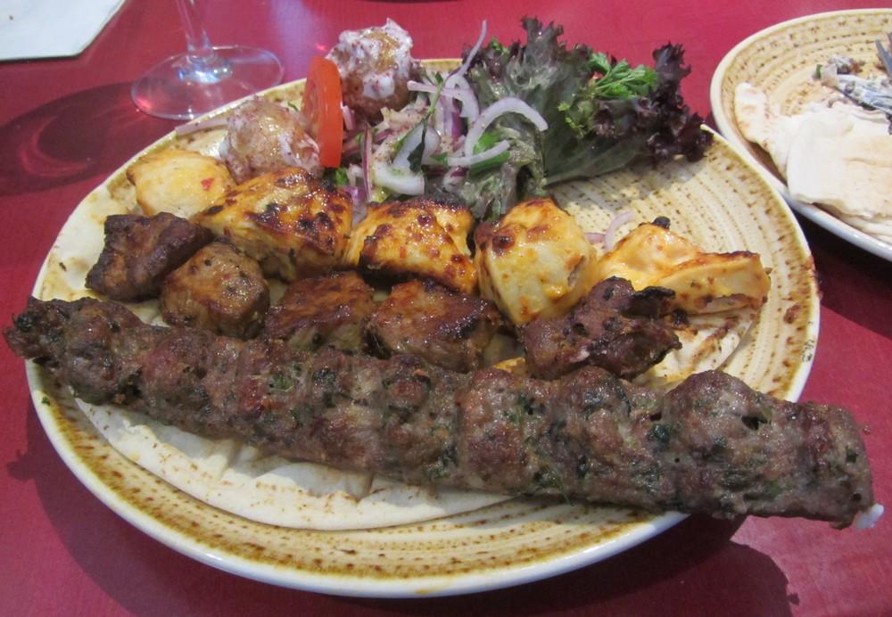 Lazeez - mixed grill