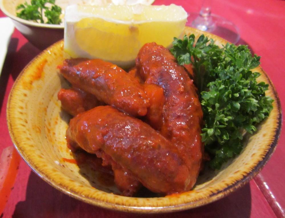 Lazeez - spicy sausages