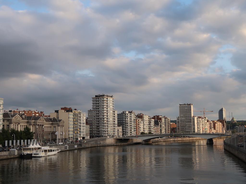 Liège Meuse River