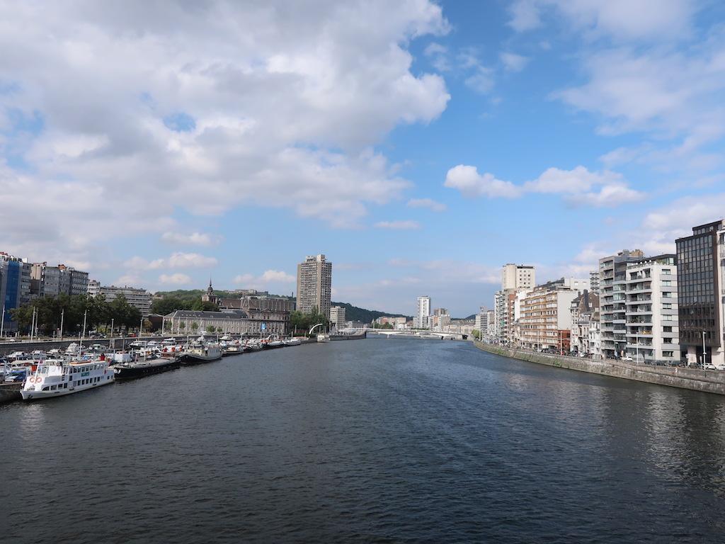 Liège River Meuse