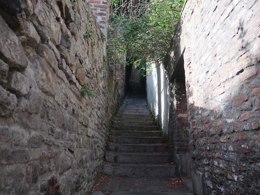 Passageways on Citadel Hillside