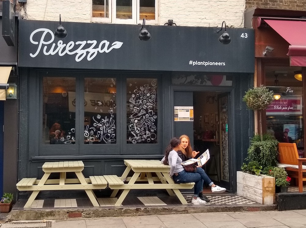 Purezza - vegan pizzeria and restaurant camden
