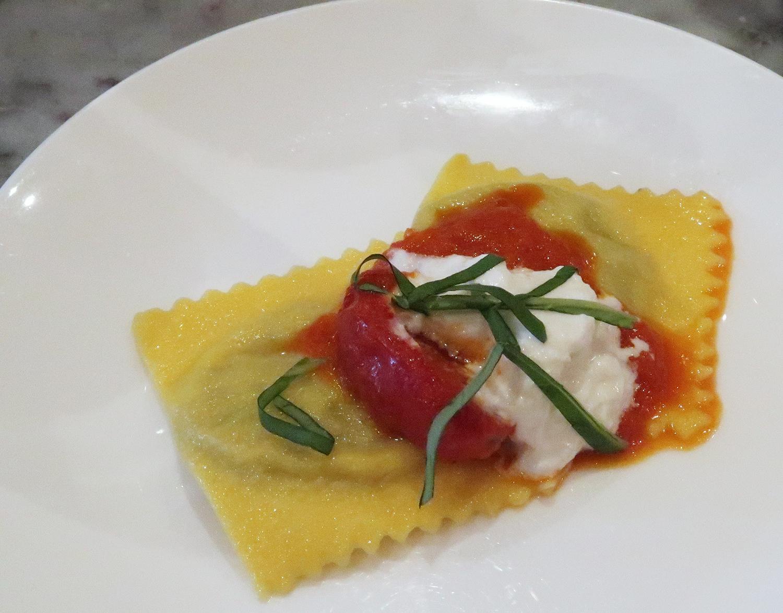 Ravioli di Melanzane - Theos Simple Italian