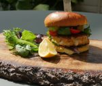 Salmon Burger Recipe – Something Fishy for National Burger Day