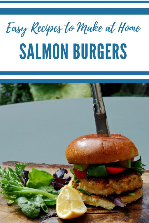 Salmon Burger Recipe - Easy Salmon Burgers
