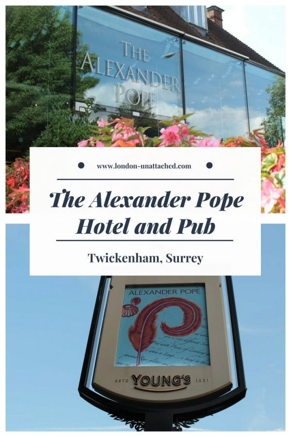 The Alexander Pope Hotel and Pub Twickenham