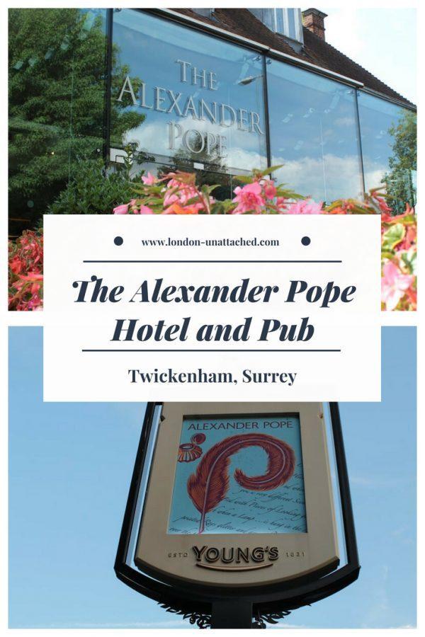 The Alexander Pope Hotel and Pub Twickenham
