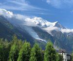 Bossons Glacier Chamonix Mont Blanc France