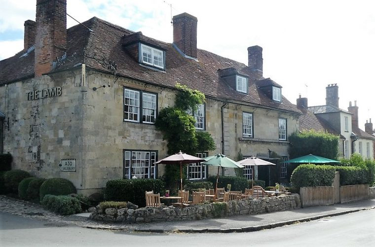 The Lamb Country Hotel and Pub in Hindon Wiltshire