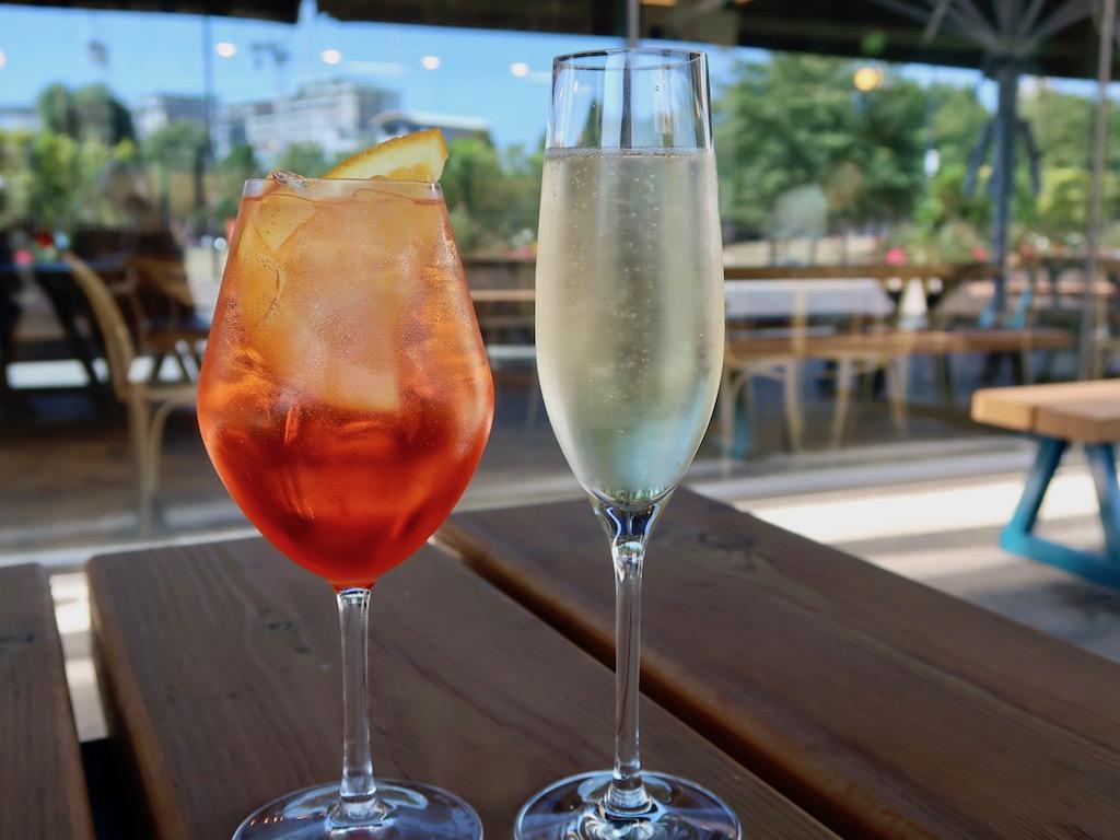 Wellbourne Brasserie - Aperol spritz & cava