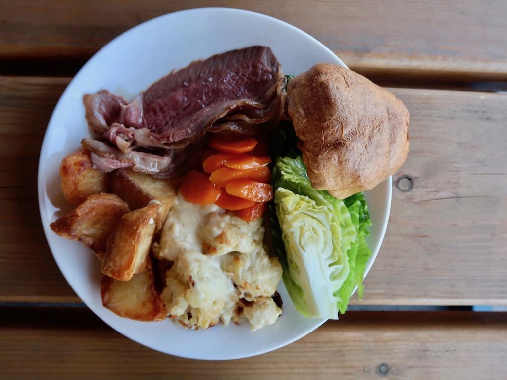 Wellbourne Brasserie - roast rump of beef