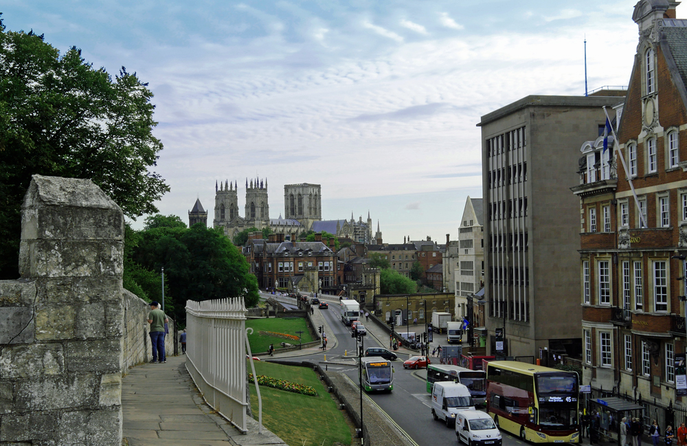 York Minster Grand from City Walls
