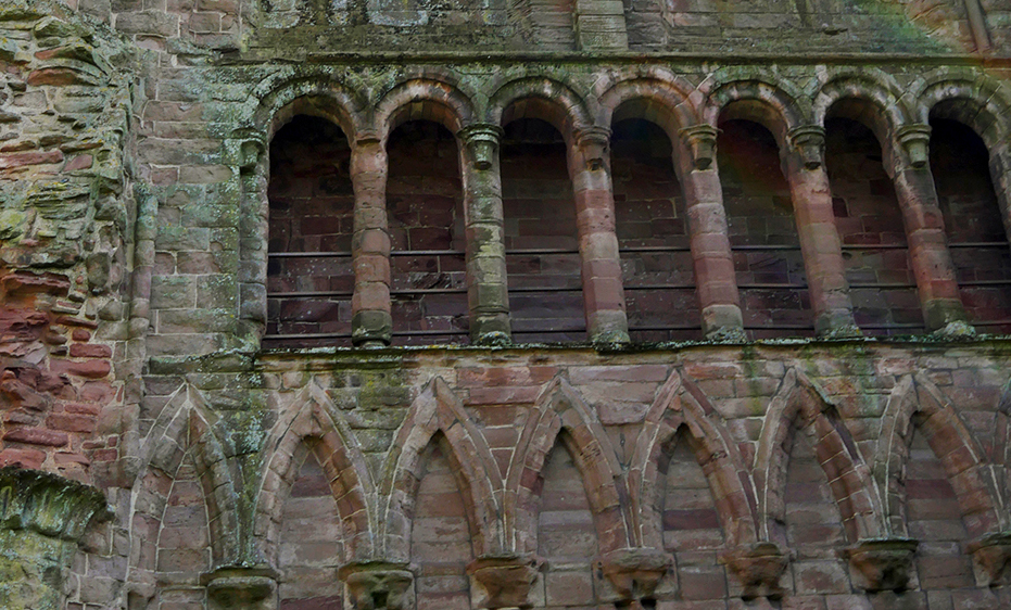 Arbroath Abbey Arches