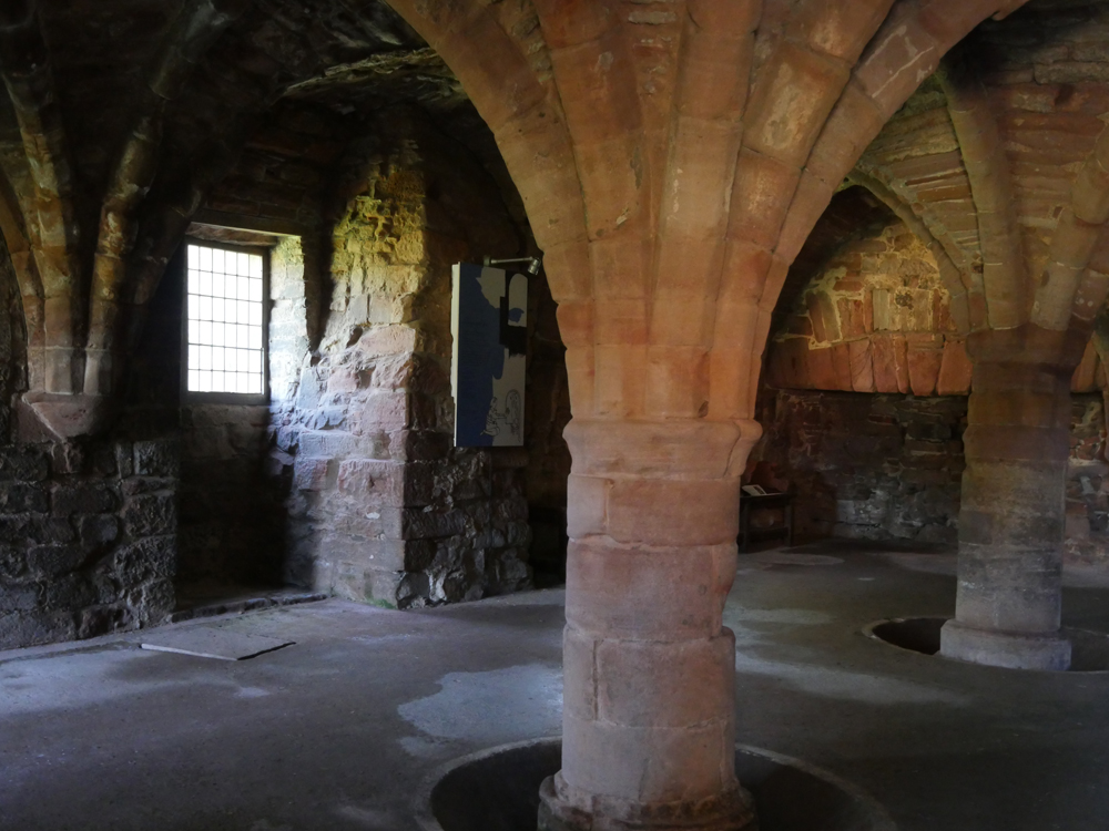 Arbroath Abbey Undercroft Abbots House