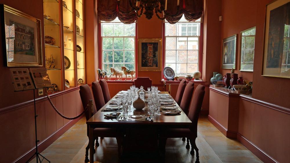 Arundells Dining room