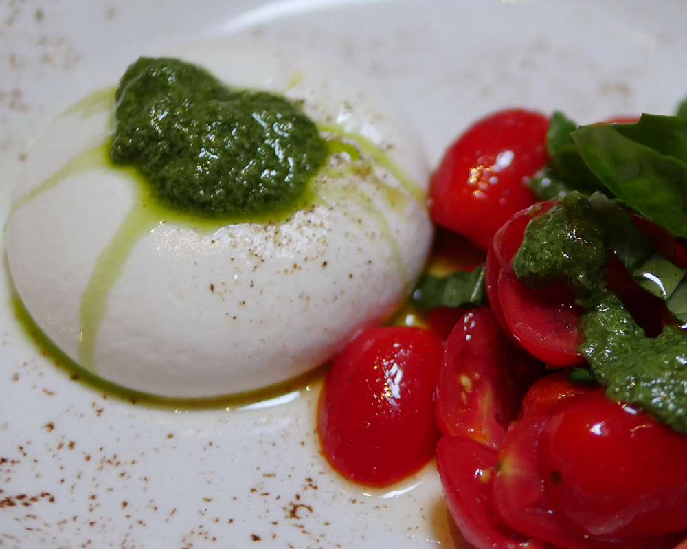 Bocconcino Italian Restaurant in MayfairBurrata