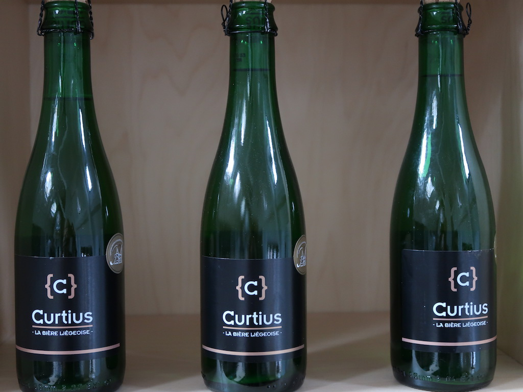 Liège Brewery C - Curtius beer bottles