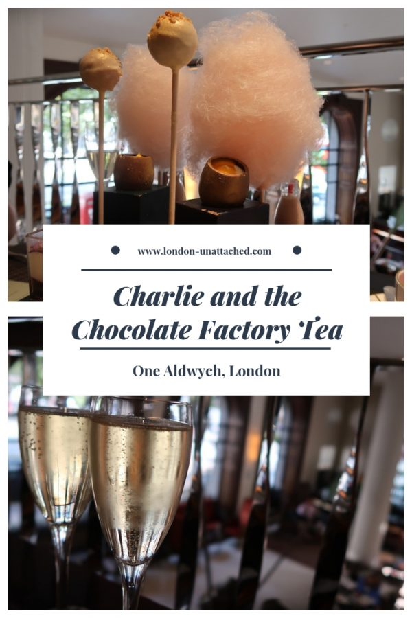 Charlie and the Chocolate Factory Afternoon Tea - One Aldwych London
