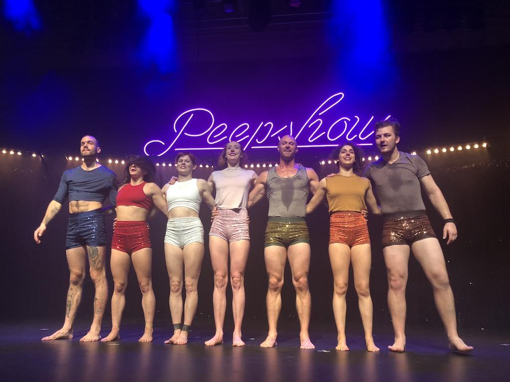 Circa Peepshow curtain call