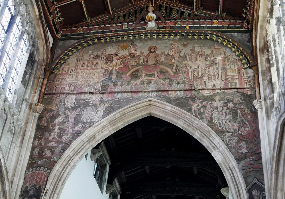 Doom Painting Salisbury Detail - things to do in Salisbury