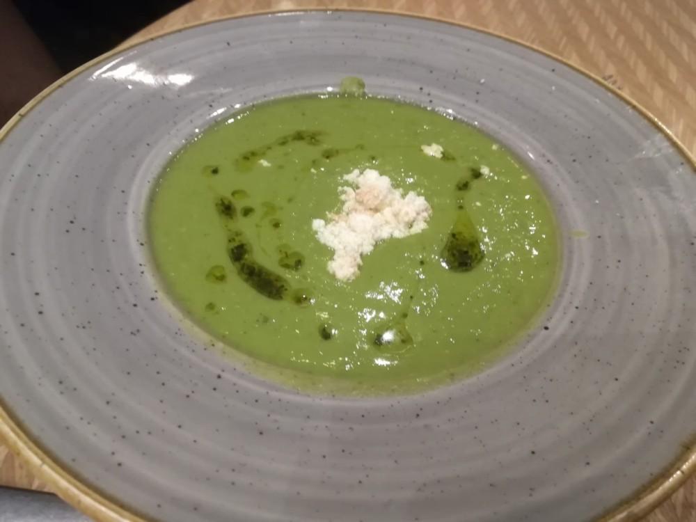 Florentine - pea soup