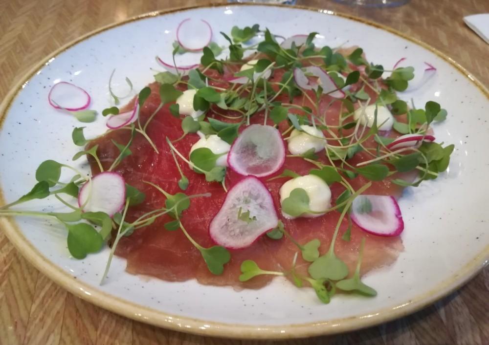 Florentine - Tuna carpaccio