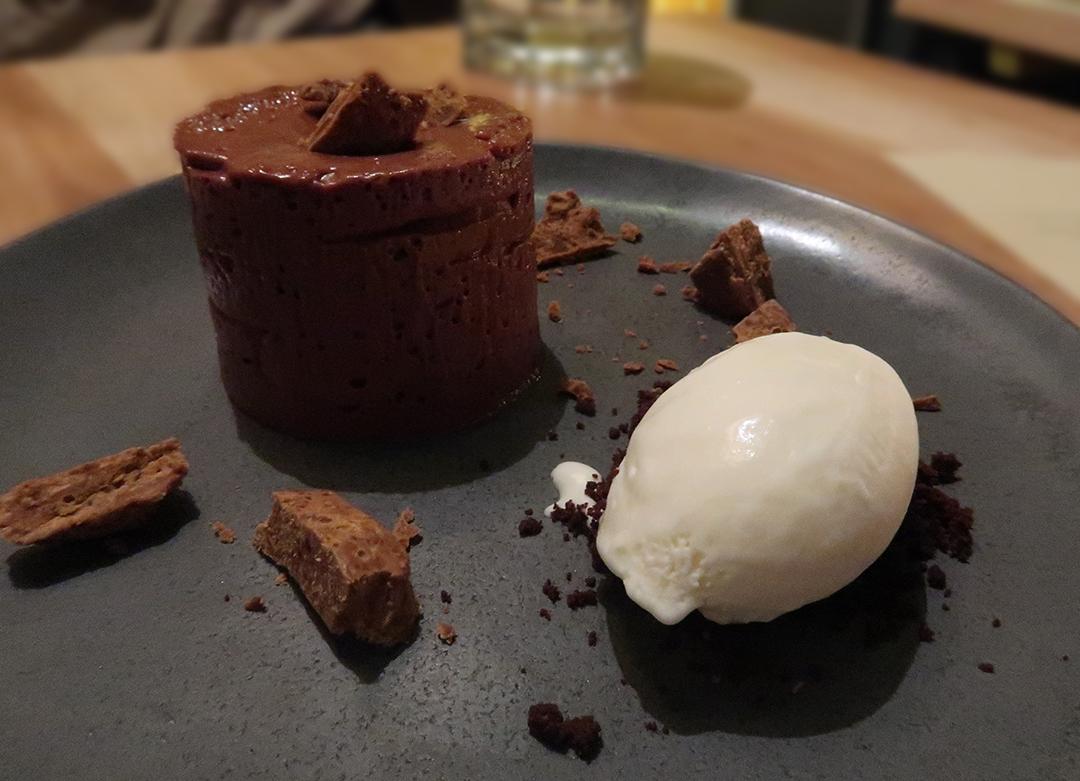 Galvin Hop Bar Spitalfields Dessert