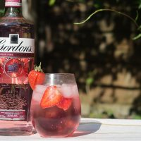 Pink Gin Spritz with Gordon's