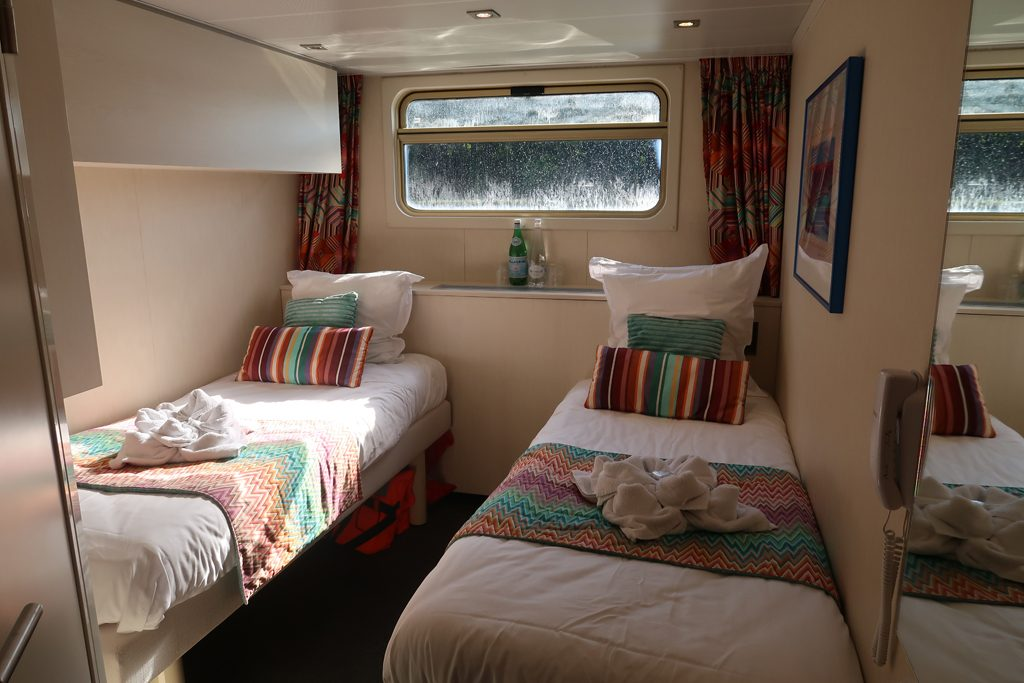 Great Rail Journeys Burgundy River Barge Cruise Cabin