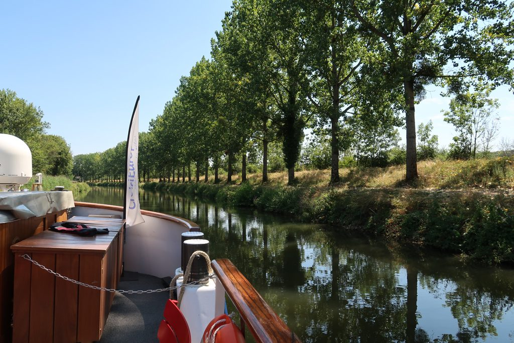 Great Rail Journeys Burgundy River Barge Cruise Chateau on Saone