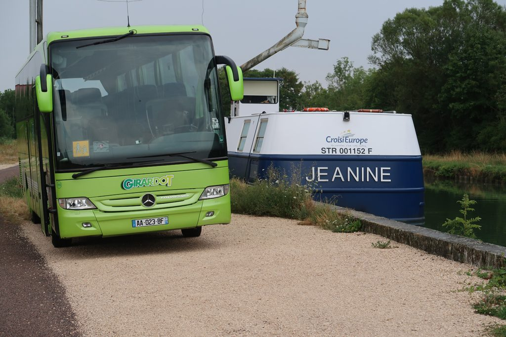 Great Rail Journeys Burgundy River Barge Cruise Coach