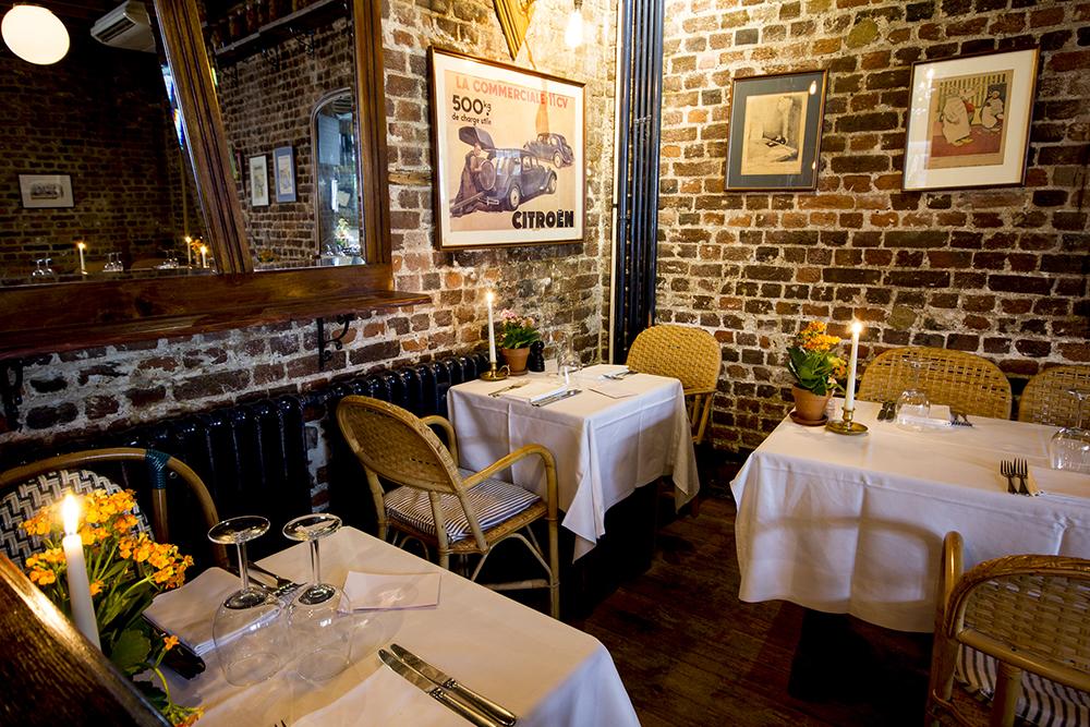 Le Cafe du Marche Restaurant Charterhouse Square