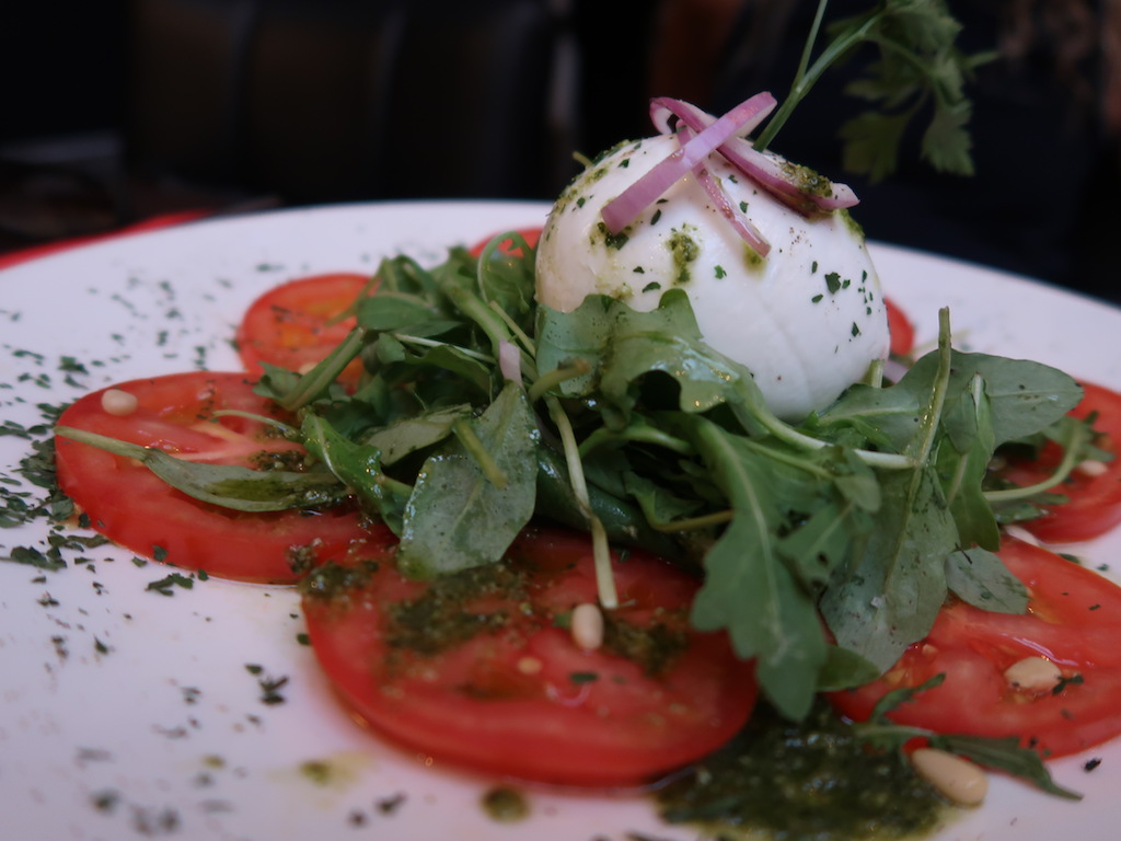 Liège Bruit Qui Court - buffallo mozzarella salad