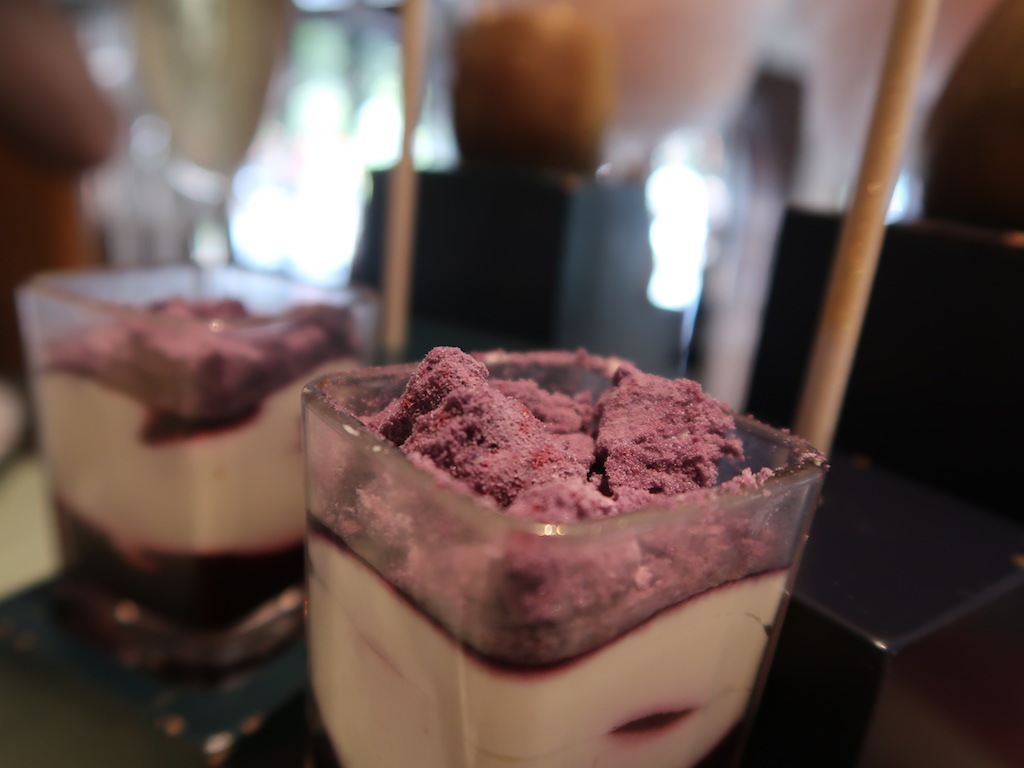 One Aldwych afternoon tea blueberry eton mess