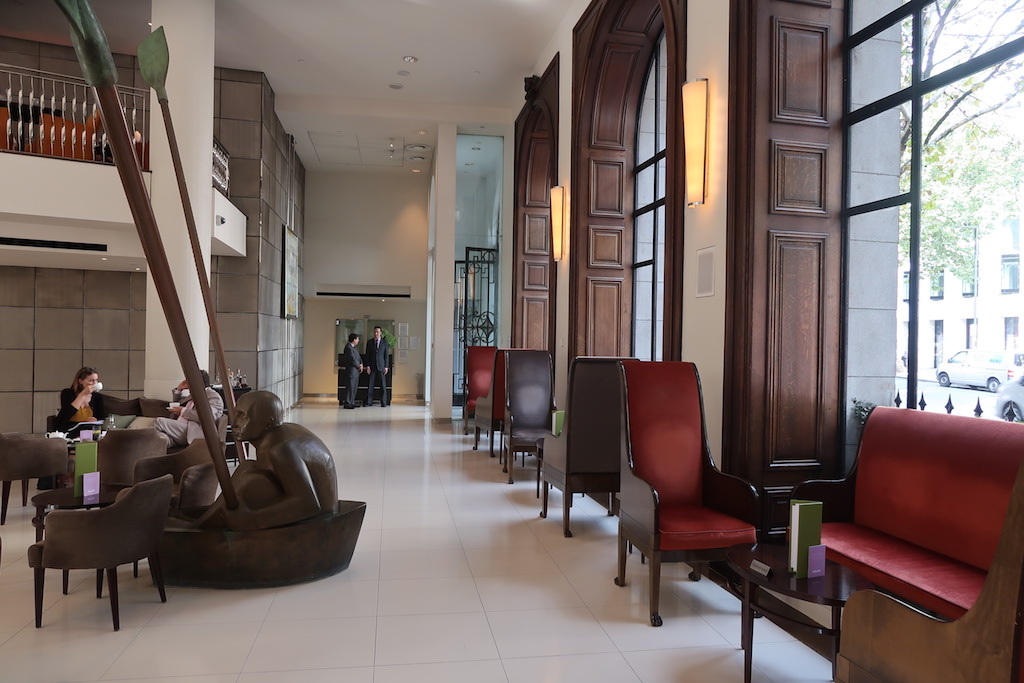 One Aldwych hotel interior lobby