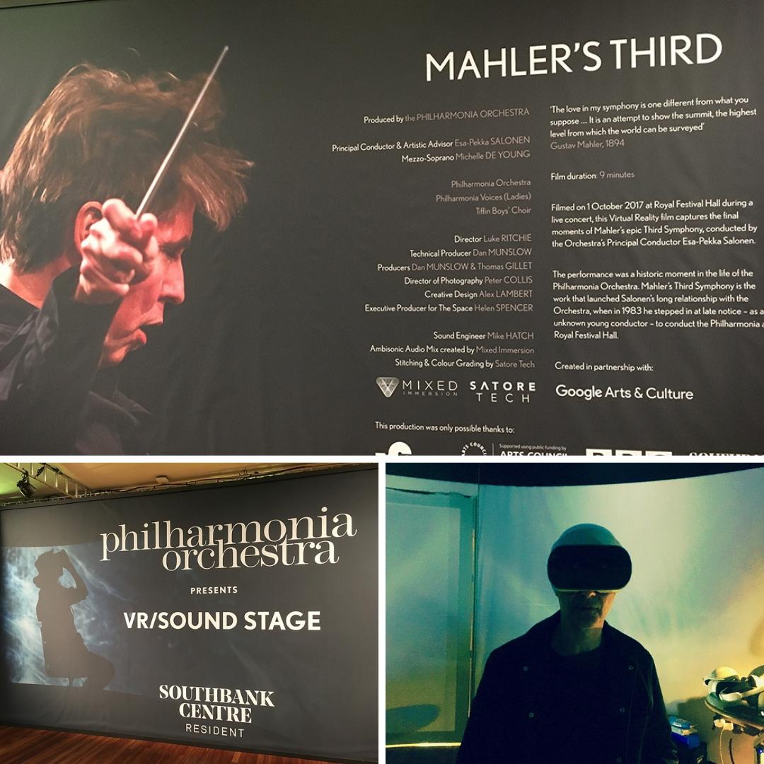 Philharmonia Orchestra Virtual Reality Pod
