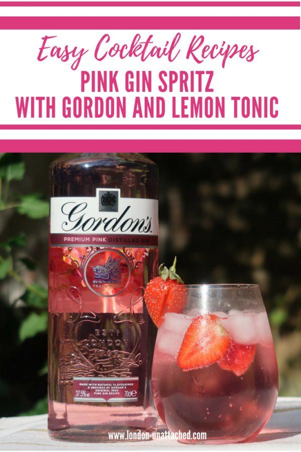 Pink Gin Spritz - Summer Cocktail Recipe