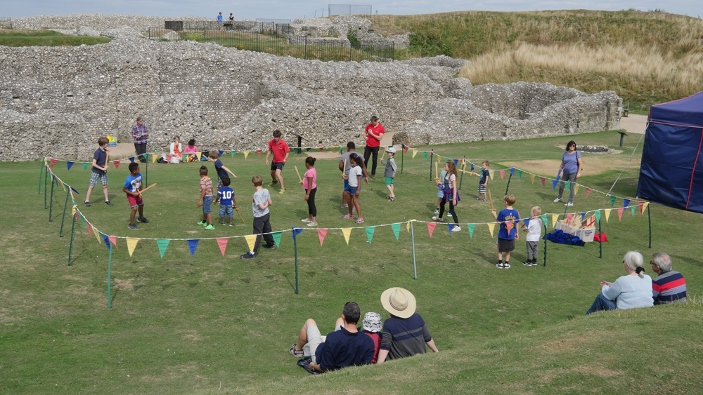 Small Knights at Old Sarum