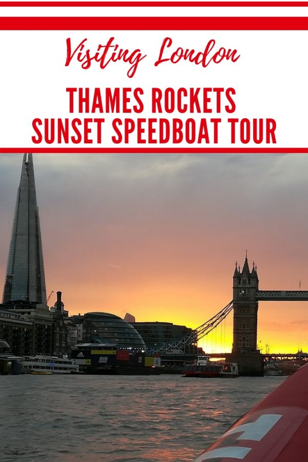 Thames Rockets Speedboat Tour