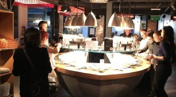 An evening of vegetarian delights at Tibits Mayfair